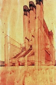 La macchina da abitare for Architetto sant elia